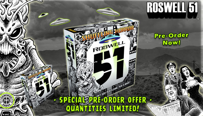 Pre-Order Roswell 51 Now!