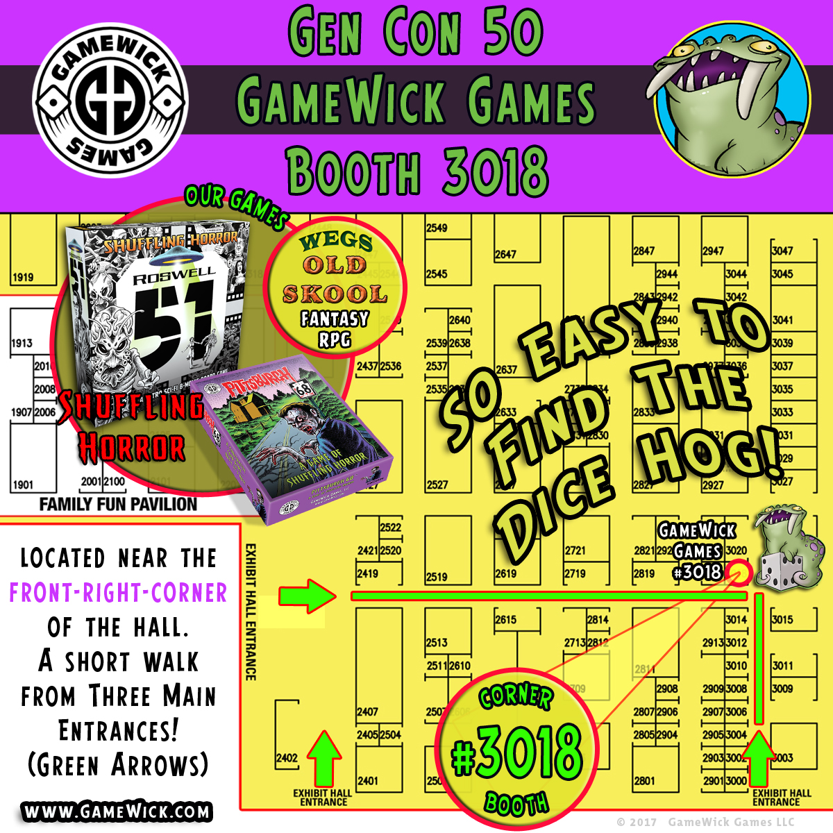 SQR-GC50-Booth Arrow Map