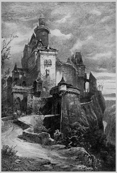 A Cool Old Castle Litho